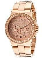Michael Kors Baguette Bezel Chronograph MK5412 Women's Watch