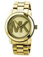 Michael Kors Embossed MK logo MK5473 Women's Watch