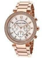 Michael Kors Parker Crystals Chronograph MK5491 Women's Watch