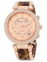 Michael Kors Parker Crystals Chronograph MK5538 Women's Watch