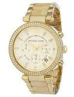 Michael Kors Parker Chronograph Crystals MK5632 Women's Watch