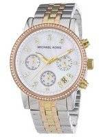 Michael Kors Ritz Chronograph Crystals MK5650 Women's Watch