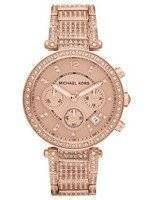 Michael Kors Parker Chronograph Crystals MK5663 Women's Watch
