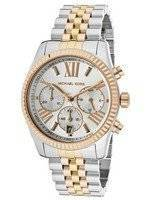 Michael Kors Lexington Chronograph Tri-Tone MK5735 Women's Watch