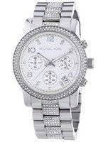 Michael Kors Runway Chronograph Crystals MK5825 Women's Watch