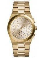 Michael Kors Channing Chronograph Champagne Dial MK5926 Women's Watch