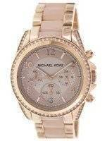 Michael Kors Blair Chronograph Crystals MK5943 Women's Watch