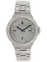 Michael Kors Camille Silver Crystal Pave Dial MK5947 Women's Watch