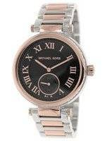 Michael Kors Skylar Black Dial Two Tone MK5957 Women's Watch