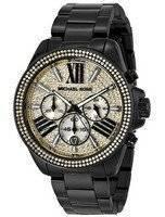 Michael Kors Wren Chronograph Crystal Pave Dial MK5961 Women's Watch