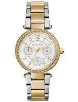 Michael Kors Mini Parker Crystals MK6055 Women's Watch