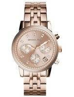 Michael Kors Ritz Chronograph Crystal Index MK6077 Women's Watch