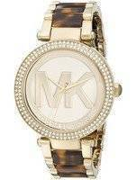 Michael Kors Parker Champagne Dial MK6109 Women's Watch