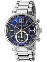 Michael Kors Sawyer Blue Dial MK6224 Women's Watch