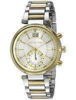 Michael Kors Sawyer Silver Dial MK6225 Women's Watch