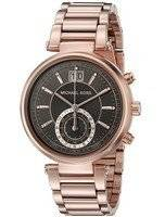 Michael Kors Sawyer Grey Dial MK6226 Women's Watch