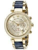 Michael Kors Parker Multi-Function Champagne Dial MK6238 Women's Watch