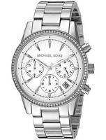 Michael Kors Ritz Chronograph Quartz Diamond Accent MK6428 Women's Watch