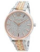 Relógio Michael Kors Lexington MK6681 com detalhes em diamante e quartzo para mulher