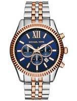 Michael Kors Lexington Chronograph Quartz Two Tone MK8412 Men's Watch