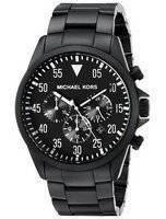 Michael Kors Gage Chronograph Black Dial MK8414 Men's Watch