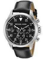 Michael Kors Gage Black Dial Chronograph MK8442 Men's Watch