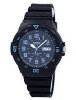 Casio Quartz 100M Analog Black Dial MRW-200H-2BVDF MRW-200H-2BV Men's Watch