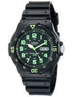 Casio Quartz Analog Black Dial MRW-200H-3BVDF MRW200H-3BVDF Men's Watch