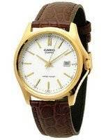 Casio Quartz Analog White Dial Gold Tone MTP-1183Q-7ADF MTP-1183Q-7A Men's Watch