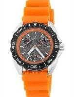 Nautica Orange Multifunction N07580G Men's Watch
