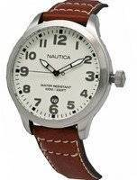 Nautica Men's N09560G BFD 101 Date Cream Dial Watch