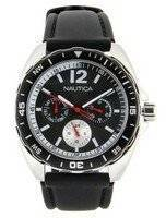 Nautica Multifunction Black Dial N09910G Men's Watch