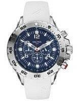 Nautica White NST Chronograph N14537G Men's Watch