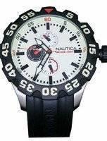 Nautica Men's N16509G BFD 100 Multifunction Luminous Dial Watch