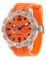Nautica BFD 100 Orange Dial N16606G Men's Watch