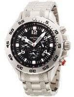 Nautica Black NST Chronograph N19508G Men's Watch