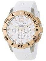 Nautica White BFD 101 N19557G Men's Watch