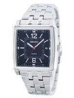 Seiko Quartz Square Shape SGED75 SGED75P1 SGED75P Men's Watch