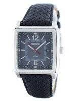 Seiko Quartz Square Shape SGED79 SGED79P1 SGED79P Men's Watch
