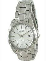 Seiko Quartz Stainless Steel SGEF75P1 SGEF75P Mens Watch