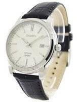 Seiko Quartz Sapphire White Dial SGEH17 SGEH17P1 SGEH17P Men's Watch
