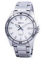 Seiko Quartz Sapphire Glass White Dial SGEH59 SGEH59P1 SGEH59P Men's Watch