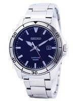 Seiko Quartz Sapphire Glass Blue Dial SGEH61 SGEH61P1 SGEH61P Men's Watch