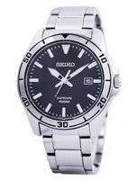 Seiko Quartz Sapphire Glass Black Dial SGEH63 SGEH63P1 SGEH63P Men's Watch