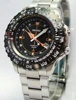 Seiko Kinetic Conceptual Multifunction Pilot's Watch SKA423P1