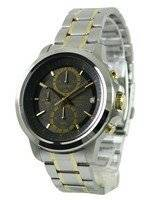 Seiko Chronograph Quartz Grey Dial SKS449 SKS449P1 SKS449P Men's Watch