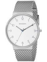 Skagen Ancher Quartz Silver Dial SKW6163 Men's Watch