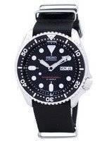 Relógio 200m da OTAN correia SKX007J1-NATO4 masculino do mergulhador Seiko automático