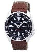 Relógio lona correia SKX007J1-NS1 200M masculino do mergulhador Seiko automático