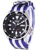 Seiko Automatic Diver 200M Bracelete NATO SKX007K1-NATO2 Assista Men